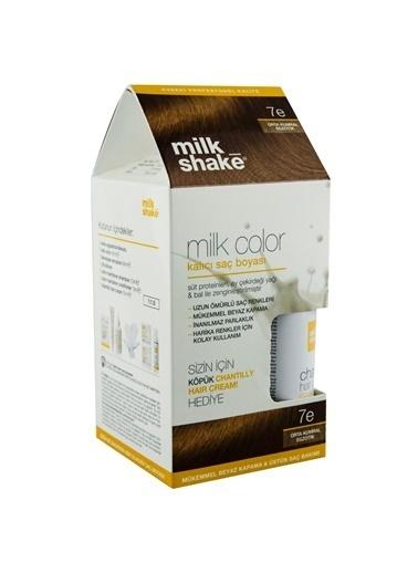 Milkshake Milk Shake Milk Color Kalıcı Saç Boyası 7 E Orta Kumral Egzotik Kahve